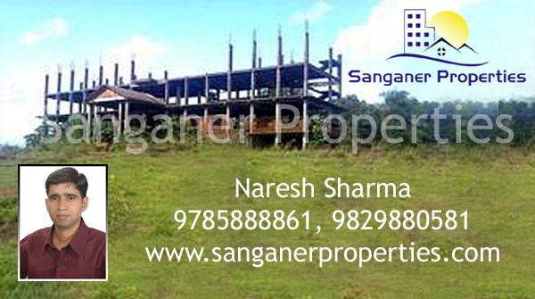 Commercial Land For Sale near Haldighati Marg in Sanganer