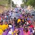 Con contundente marcha caravana Lenín de la Rosa cierra campaña
