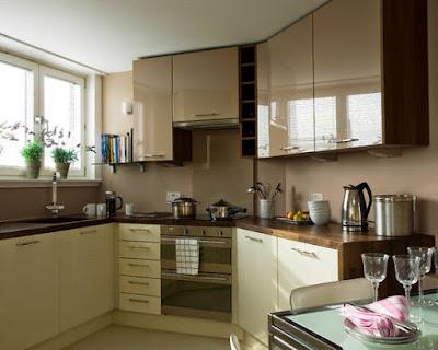 Desain Interior Kitchen Set Minimalis Untuk Dapur Sederhana
