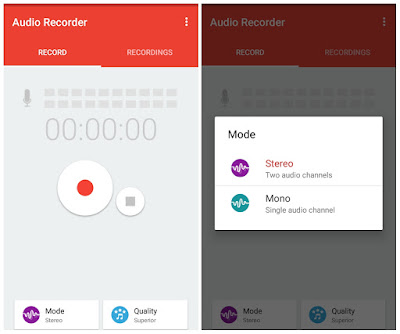 Audio Recorder User Interface