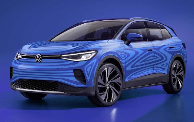 Volkswagen ID4 elétrico terá mais de 500 km de autonomia