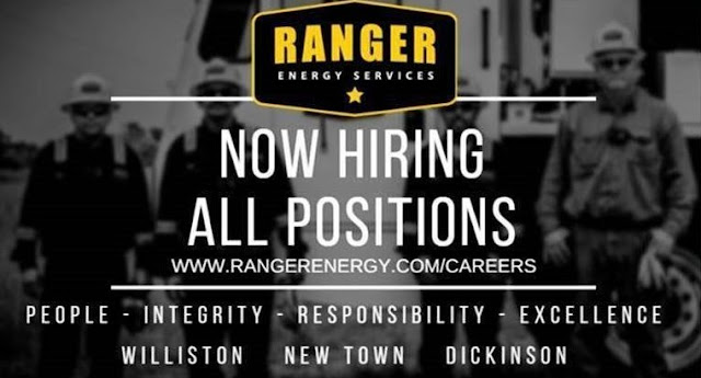Ranger Energy Now Hiring all Positions - Drilling Crew