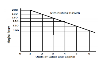 Law of Diminishing Marginal Return
