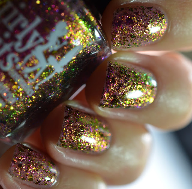 Girly Bits Queen of Darkness swatch