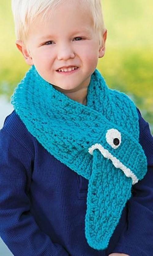 Chomp Chomp Scarf - Crochet Pattern