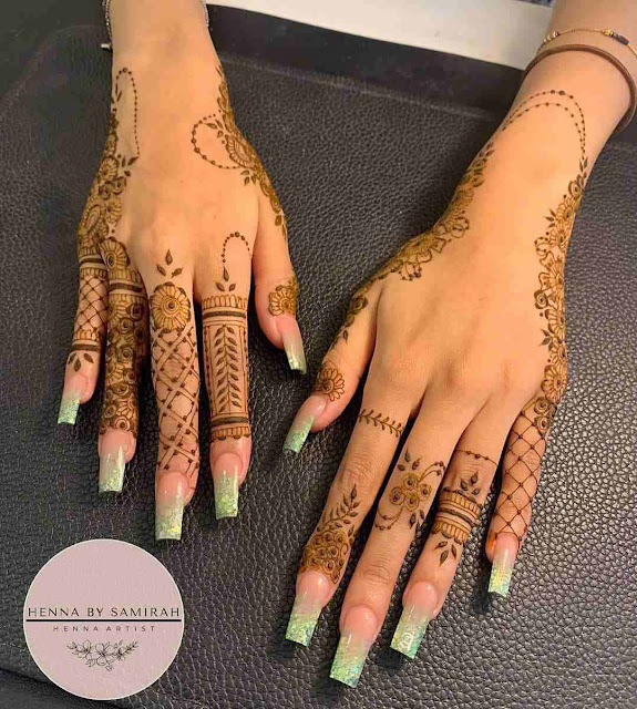Arabic Designs For Hands