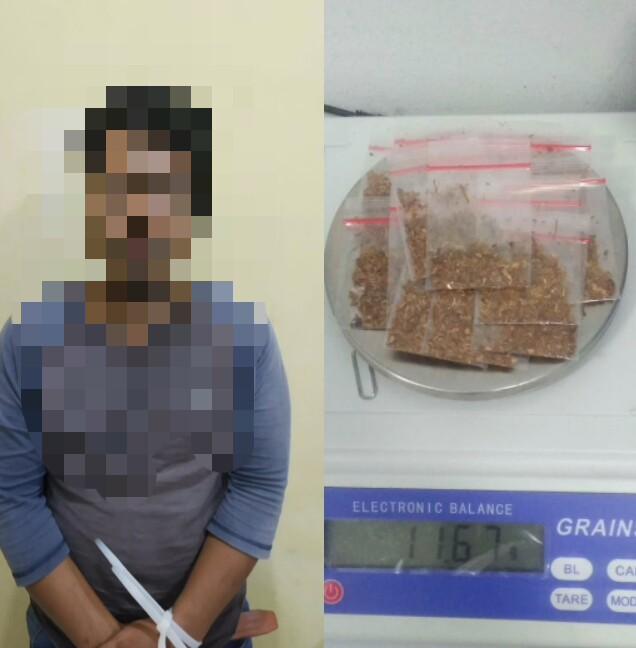 Tanpa Perlawanan, SP Berhasil Diciduk Satres Narkoba Polres Cilegon