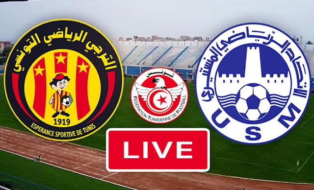 بث مباشر مباراة الاتحاد المنستيري و الترجي  في نهائي كأس تونس