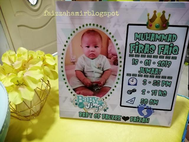 Photocanvas ~ Hadiah Dari Ibu Untuk Firas