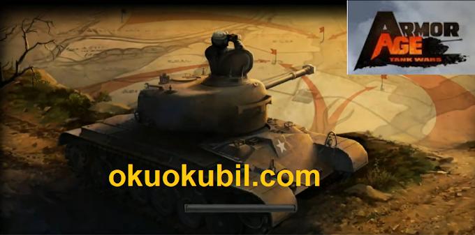 Armor Age Tank Wars PVP Mod Yükseltme Hileli Apk İndir