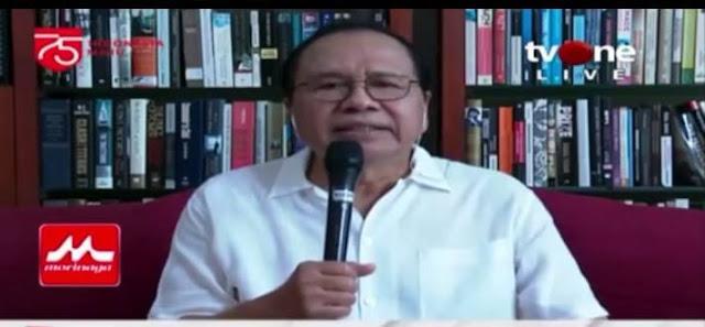 Sebut RI Sudah Resesi, Rizal Ramli Sebut Pemerintah Kebiasaan Bohong