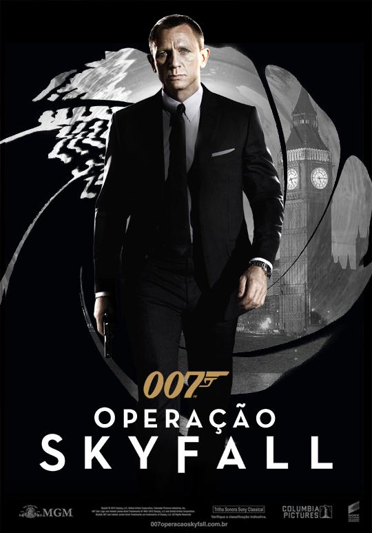 Capa do Filme 007: Operação Skyfall