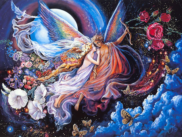josephine wall fantasy painting angel
