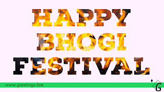 Bhogi Festival Wishes to All Telugu States