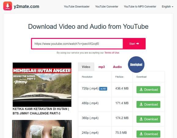 cara mendownload video di youtube di laptop