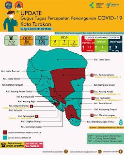 Press Release COVID-19 Tarakan 16 April 2020 -Tarakan Info