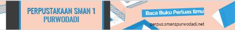 Banner Perpus SMAN 1