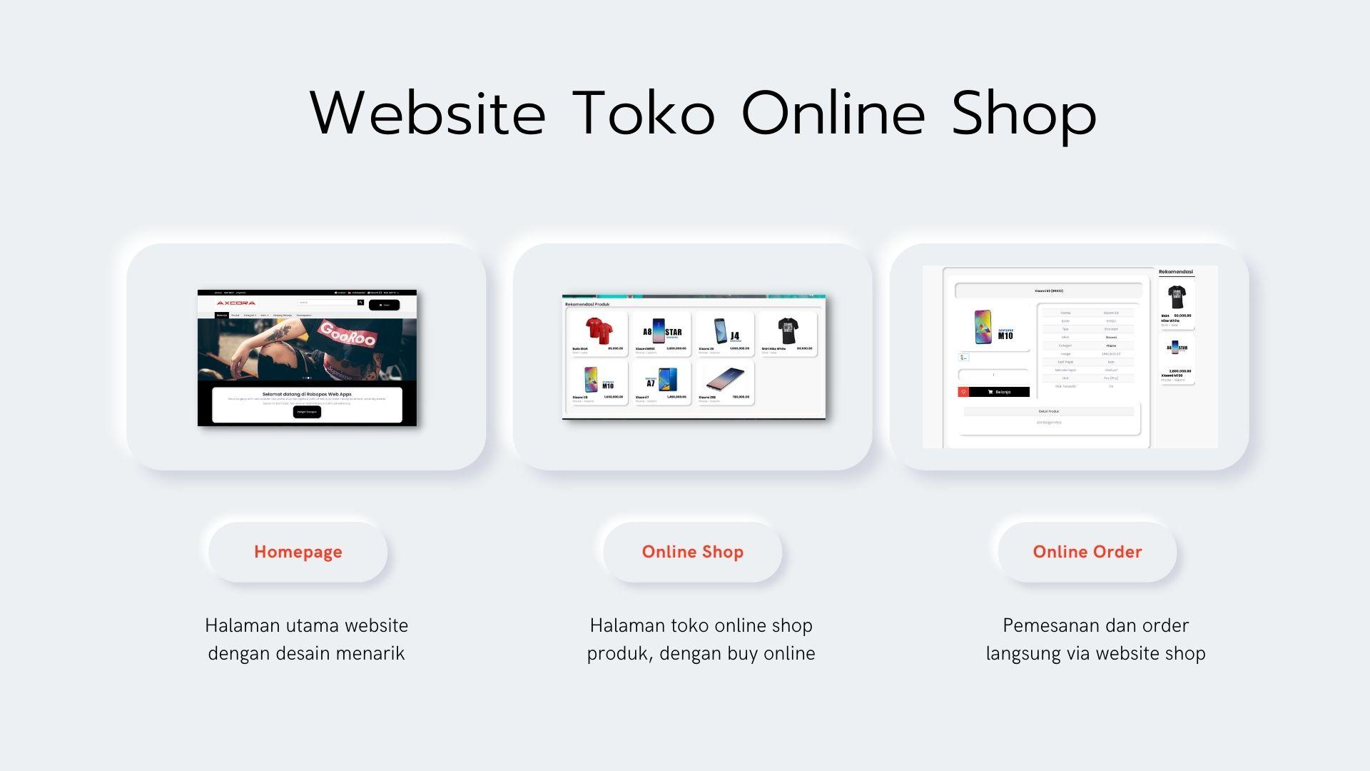 aplikasi kasir toko penjualan toko online shop