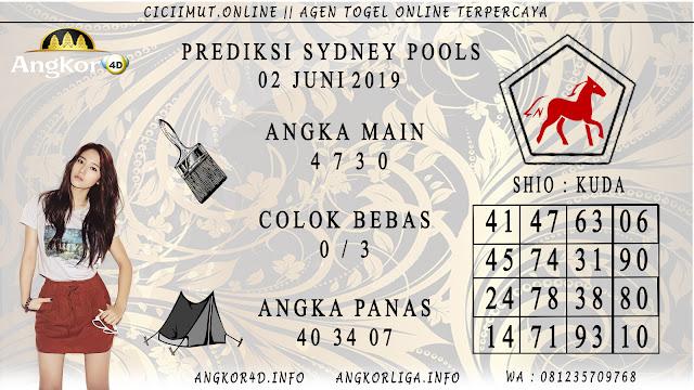 PREDIKSI SYDNEY POOLS 02 JUNI 2019