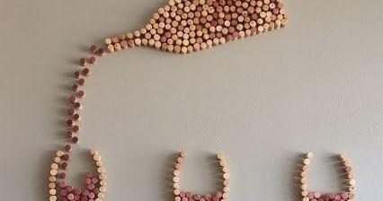 Decoraci n de pared con corchos de vino somosdeco blog for Decoracion con corchos
