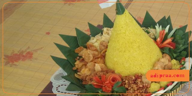 Nasi Tumpeng | adipraa.com