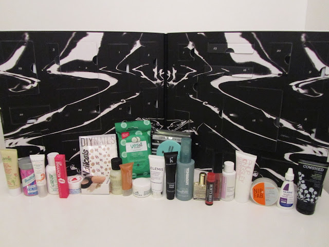 ASOS Beauty Calendar 2016 all products