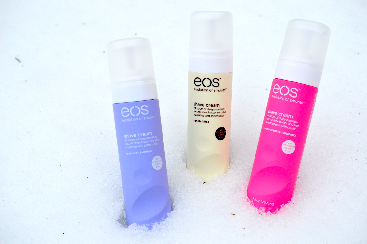 EOS shave cream review