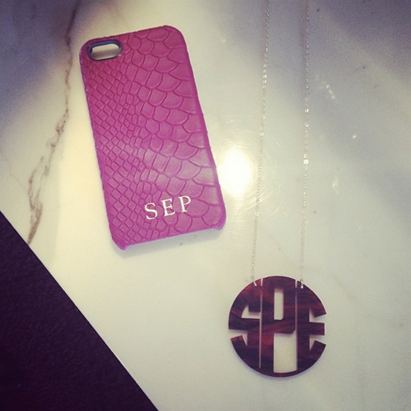 Monogrammed Iphone Case Australia