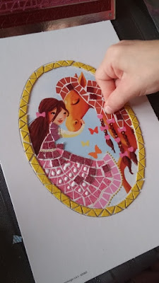 Activité Mosaïques sur le thème des chevaux !