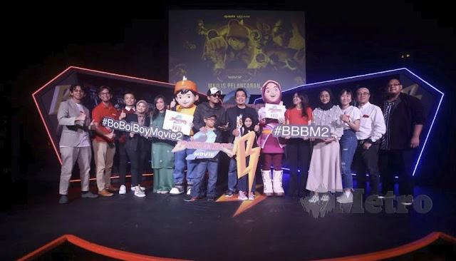 Filem BoBoiBoy Movie 2