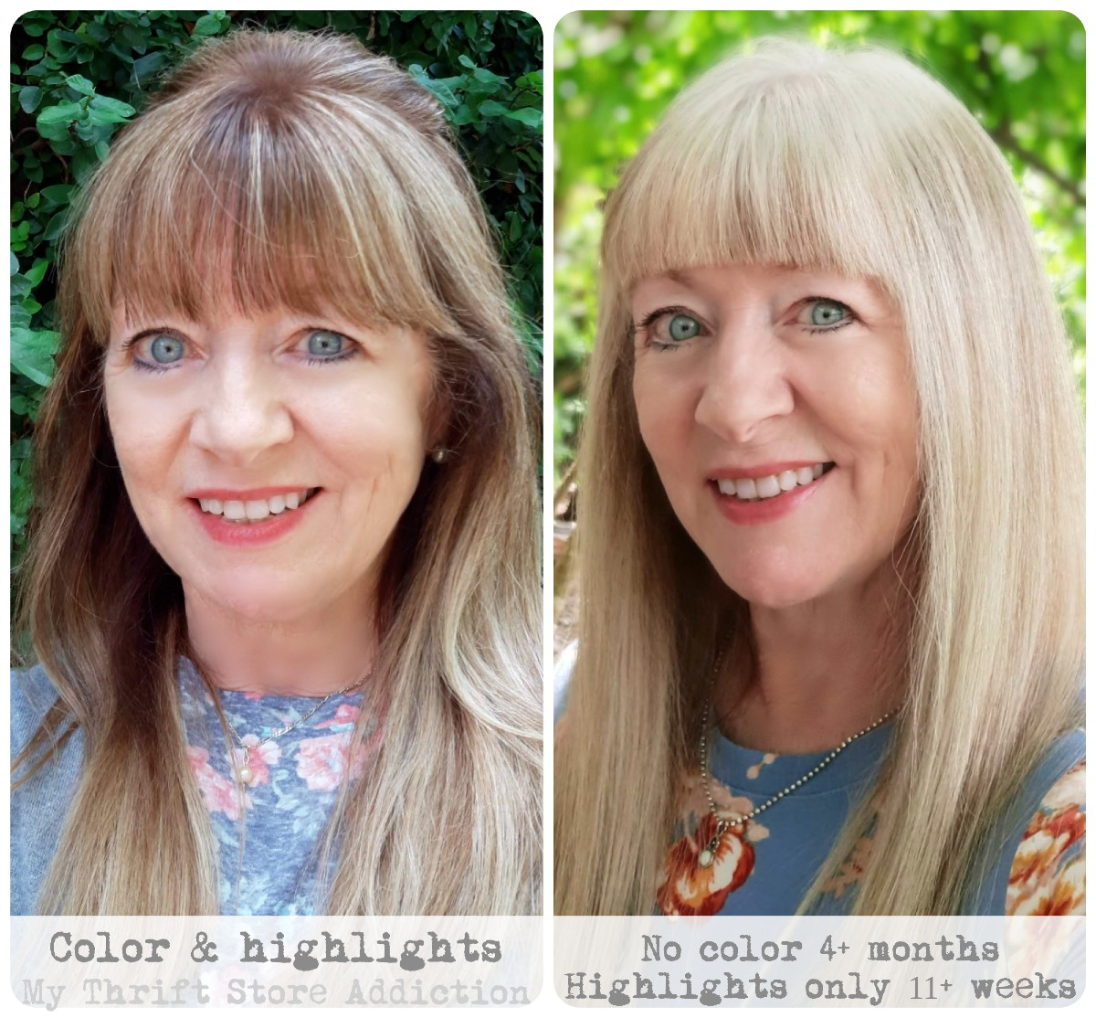 how to grow out hair color and go gray