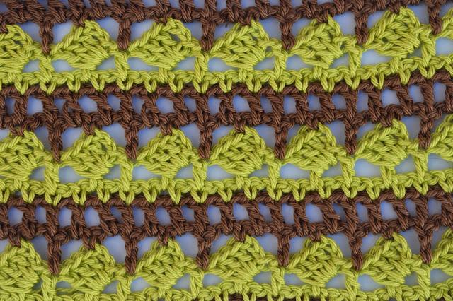 1 - Crochet Imagen Puntada para poncho de verano a crochet y ganchillo por Majovel Crochet