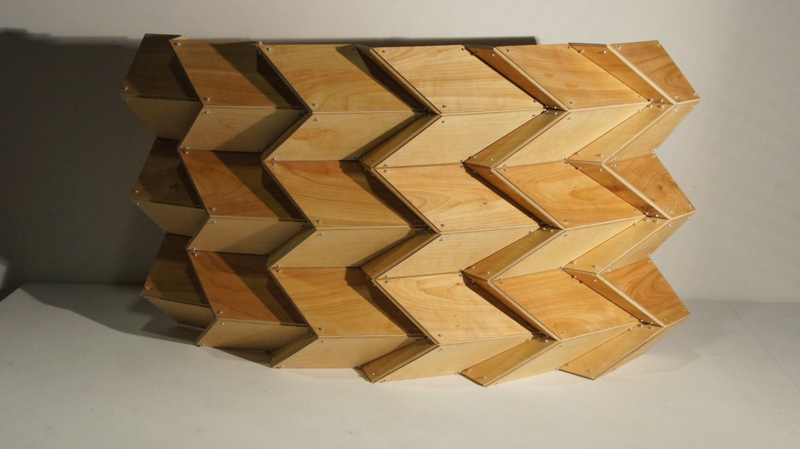 Rigid Folding Structures: V-Pleat Miura-ori Rigid Plate ... - photo#10