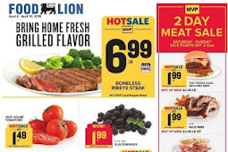 Food Lion Weekly Ad 4/4 - 4/10, 2018