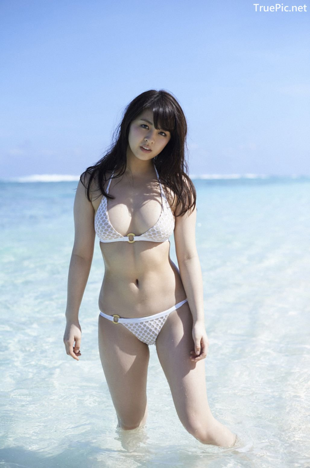 Image-Japanese-Actress-And-Model-Yurina-Yanagi-Blue-Sea-And-Hot-Bikini-Girl-TruePic.net- Picture-7