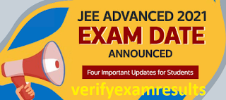 JEE Advanced 2021: Exam Date, Application Form, Eligibility