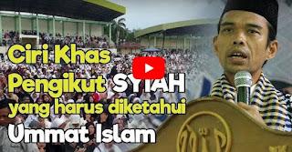 UAS Menjelaskan Ciri Khas Pengikut Syiah yang Paling Mudah Diketahui [Video]
