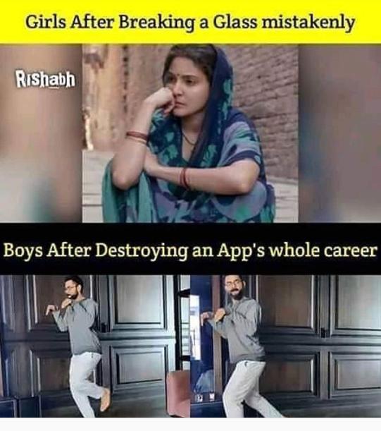 विराट कोहली के 'डायनासोर' वीडियो पर बने मजेदार Memes