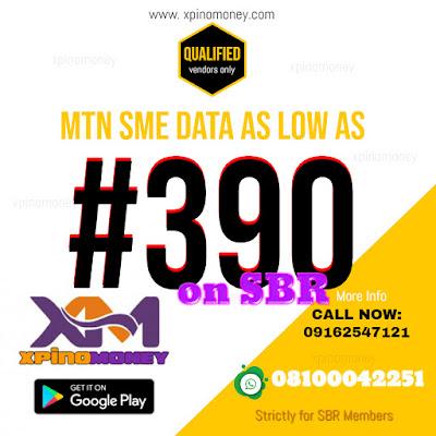 SBR, Xpino, Business, VTU, Cheapest Data, XpinoMOney, Nigeria, MTN,Glo, Airtel, 9mobile,