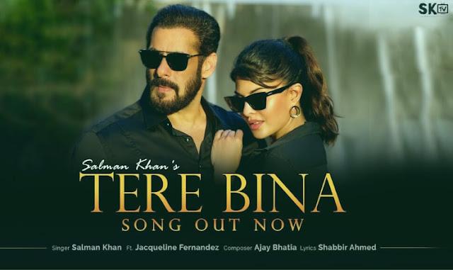 Tere Bina तेरे बिना Lyrics – Salman Khan | Jacqueline Fernandez