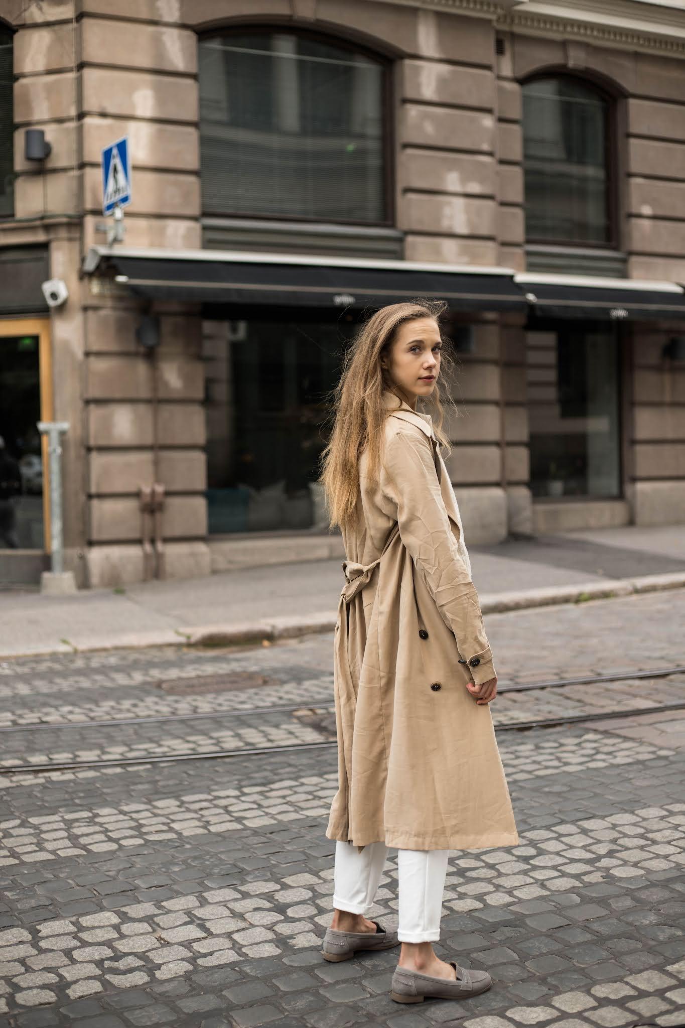 Neutraali syysmuoti // Neutral autumn fashion