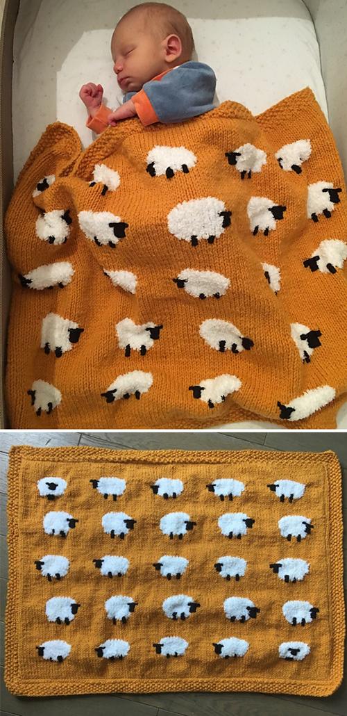 Sheep! - Intarsia Charts