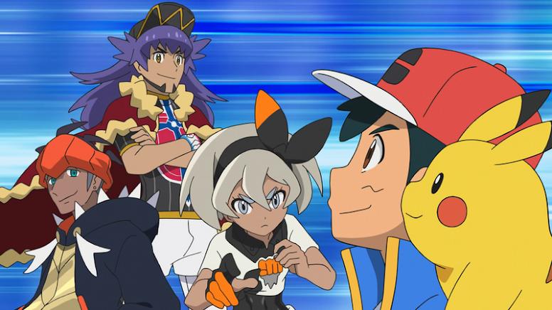 Ash Jornadas Pokémon