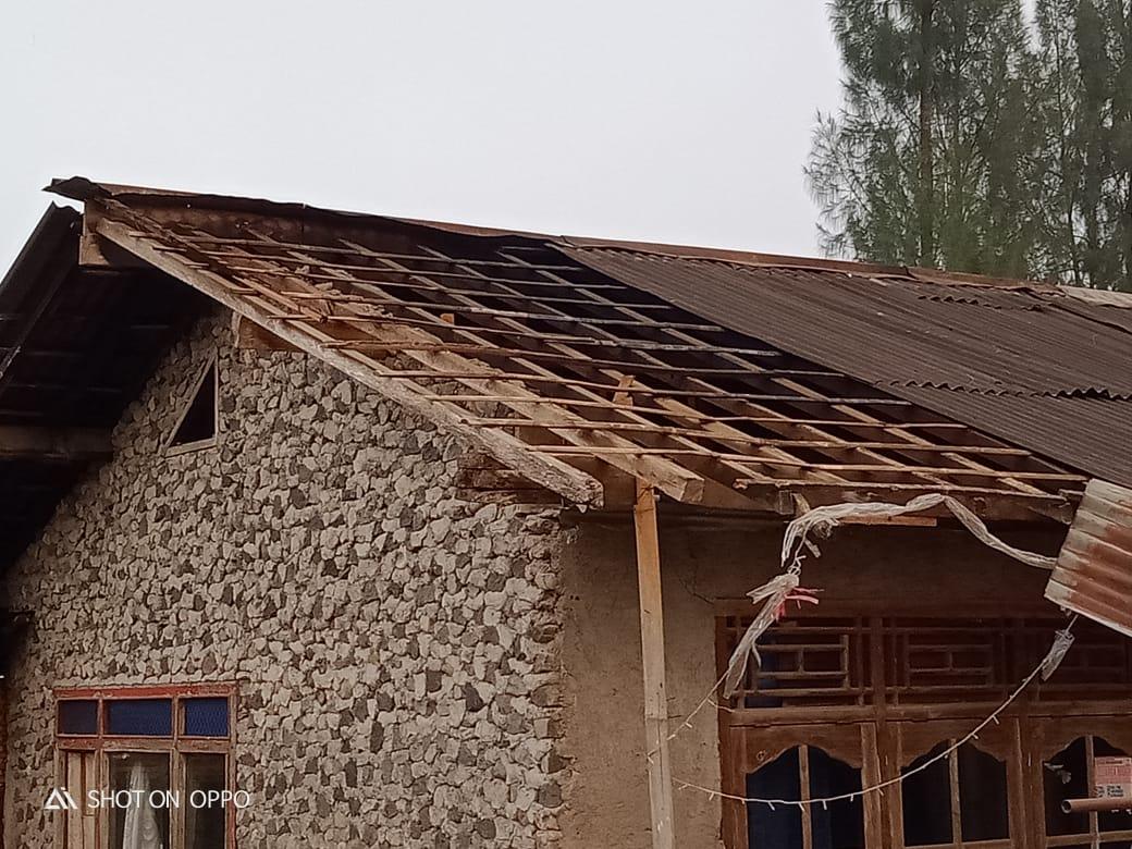 Desa Butuh Kidul Kembali Terkena Puting Beliung