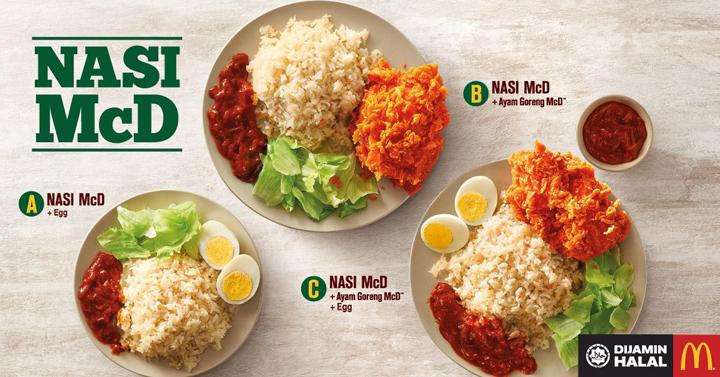 Jangan tertewas di bulan Ramadan kerana Nasi McDonalds