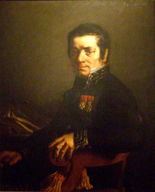 Жан Франсуа Милле - Портрет Жевена (мэра Шербурга). 1841