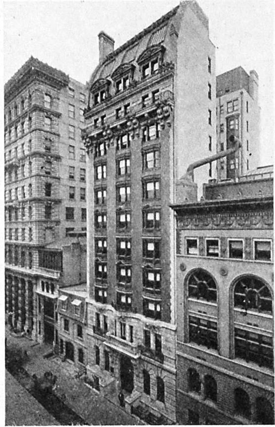 Daytonian In Manhattan The 1903 Hotel Mansfield No 14 West 44th Street
