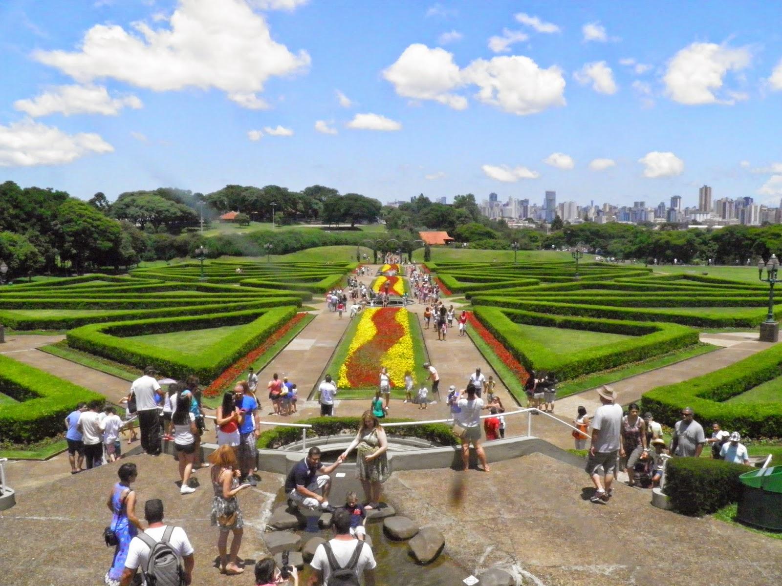 Jardim Botânico - Curitiba - TURISMO E VIAGEM