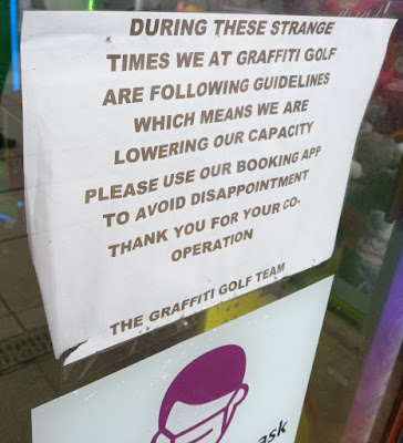 Graffiti Golf in Blackpool