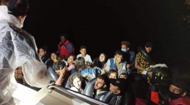 Yunanistan'ın ölüme terk ettiği 56 sığınmacı kurtarıldı